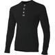 Aclima Warmwool Granddad Shirt Jet Black